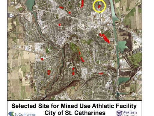 Project Site Selection for Mixed Use Athletic Facility - University Western Ontario